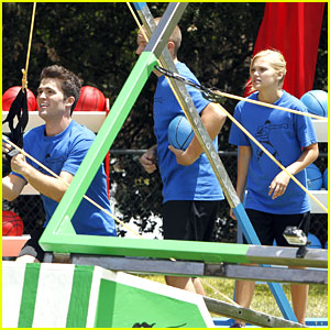 Spencer Boldman & Olivia Holt: Disney TRYathlon Pics!