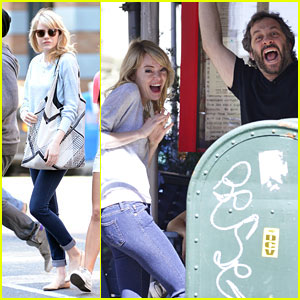 Emma Stone: Bubby's Run In with Judd Apatow!