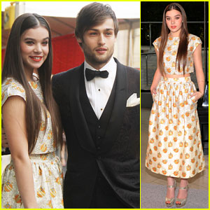 Hailee Steinfeld & Douglas Booth: CFDA Fashion Awards Duo