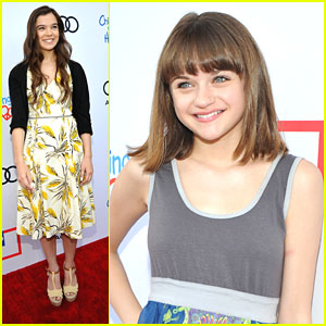 Hailee Steinfeld & Joey King: Style Sunday with Children Mending Hearts