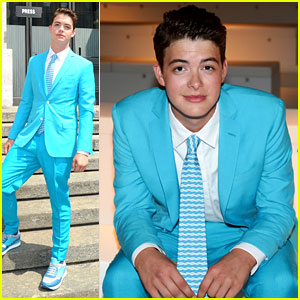 Israel Broussard Attends Milan Fashion Week