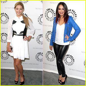 Janel Parrish & Sasha Pieterse: PLL At Paley Event
