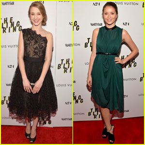 Katie Chang & Taissa Farmiga: 'Bling Ring' NYC Premiere