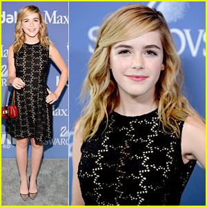 Kiernan Shipka: Crystal & Lucy Awards 2013