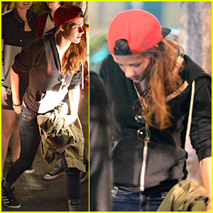 Kristen Stewart: Sushi Dinner with Friends Before New Films Shoot!