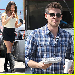 Lea Michele & Cory Monteith: 'Glee' Photo Shoot for Season 5!