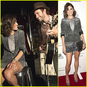 Nikki Reed Performs At Erik Wahl's Book Launch