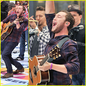 Phillip Phillips: 'Today Show' Performer!