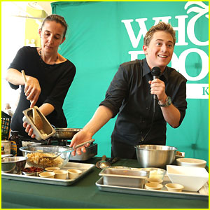 Reed Alexander: Whole Foods Recipe Demonstration in NYC