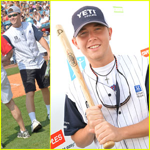 Scotty McCreery: City of Hope Celebrity Softball Game 2013