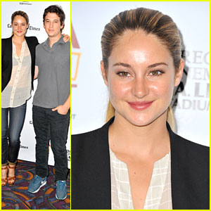 Shailene Woodley & Miles Teller: 'Spectacular Now' at LAFF 2013