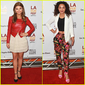 Stefanie Scott & Jaylen Barron: 'The Way, Way Back' Premiere!