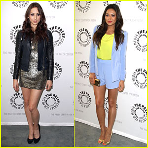 Troian Bellisario & Shay Mitchell: 'Pretty Little Liars' Paley Center Event