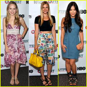 Allie Gonino & Meaghan Martin: Outfest Los Angeles 2013