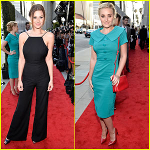 Aly & AJ Michalka: 'Blue Jasmine' Premiere Pair