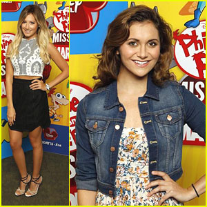 Ashley Tisdale & Alyson Stoner: 'Phineas & Ferb: Mission Marvel' Press Event