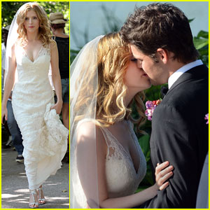 Anna Kendrick & Jeremy Jordan: 'Last Five Years' Wedding Kisses!