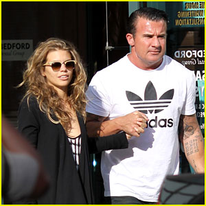 AnnaLynne McCord: Dentist Visit with Dominic Purcell