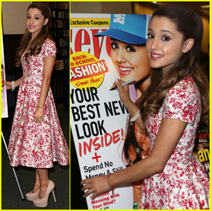 Ariana Grande: 'Seventeen' Magazine Signing