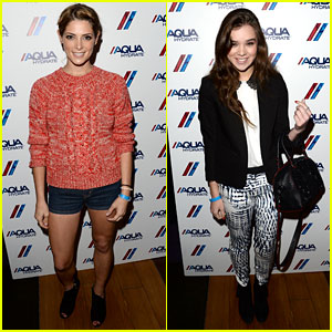 Ashley Greene & Hailee Steinfeld: Bruno Mars Concert!