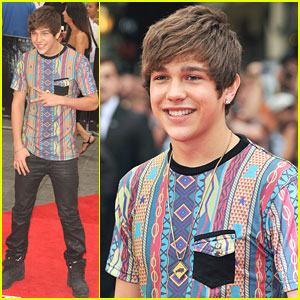 Austin Mahone: 'Wolverine' Premiere in London
