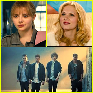 Chloe Moretz & Claudia Lee: Union J's 'Carry You' Video!
