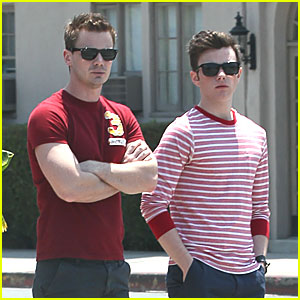 Chris Colfer: Fourth of July Lunch with Will Sherrod!