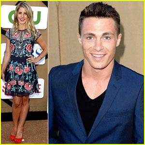 Colton Haynes & Emily Bett Rickards: CW Summer TCA Party Pair