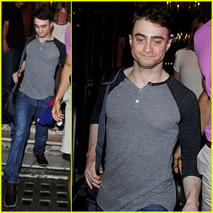 Daniel Radcliffe: 'Cripple of Inishmaan' Birthday Departure