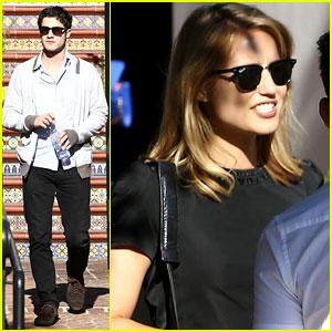 Dianna Agron & Darren Criss: 'Glee' Cast Reunites After Cory Monteith's Memorial