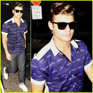 Garrett Clayton: Night Out After 'Teen Beach Movie' Screening