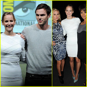 Jennifer Lawrence: 'X-Men' Comic-Con Panel with Nicholas Hoult!