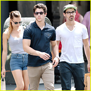 Nick & Joe Jonas: Lunch with Blanda Eggenschwiler