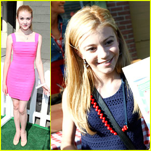 G Hannelius & Katherine McNamara: Power of Youth with Blake Michael & Mason Cook
