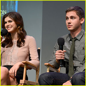 Logan Lerman: I'm Flattered by Selena Gomez's Crush!