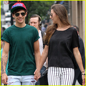 Louis Tomlinson & Eleanor Calder Hold Hands in Montreal