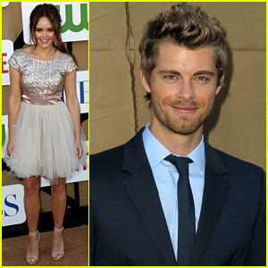 Luke Mitchell & Rebecca Breeds: TCA Party Couple!