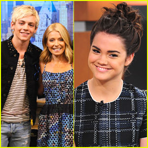 Ross Lynch Goes 'Live!'; Maia Mitchell Says 'Good Day'