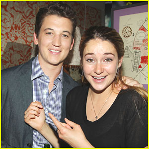 Shailene Woodley & Miles Teller: 'Spectacular Now' in New York City