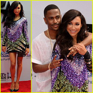 Naya Rivera: BET Awards 2013 with Big Sean