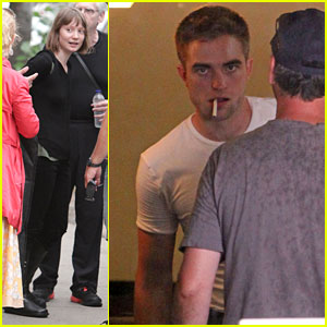 Robert Pattinson & Mia Wasikowska Begin Filming 'Map to the Stars'!