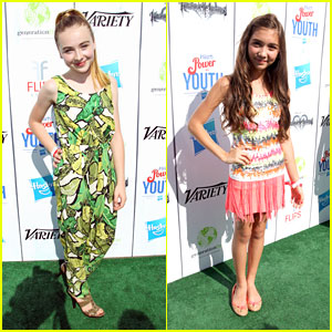 Rowan Blanchard & Sabrina Carpenter: Power of Youth 2013
