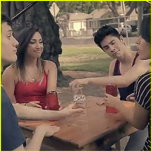 Sam Tsui & Kina Grannis: 'Cups' Cover with Alex G & Kurt Schneider!