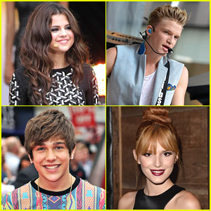 Selena Gomez, Cody Simpson, Austin Mahone & Bella Thorne: Young Hollywood Awards Honorees!