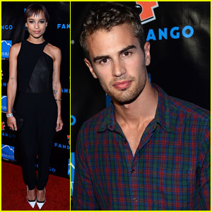 Theo James & Zoe Kravitz: Summit Comic-Con Party
