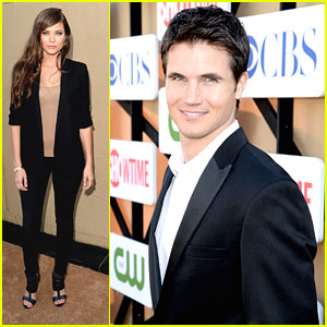 Robbie Amell & Peyton List: CW Summer TCA Party