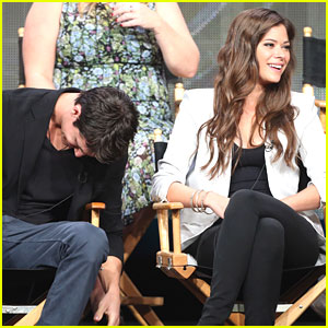 Robbie Amell & Peyton List: 'Tomorrow People' at TCA Summer Press Tour