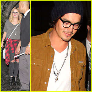 Tyler Blackburn Talks 'Ravenswood'