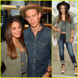 Vanessa Hudgens & Austin Butler: AE 'Rock Your Walk' Event