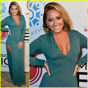 Adrienne Bailon: Compound Foundation Cutie!